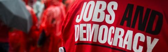 Jobs and Democracy