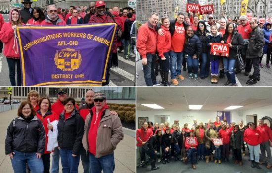 CWA District 1 at the Working People's Day of Action